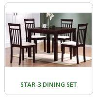 STAR-3 DINING SET